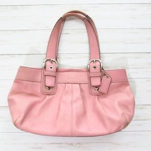 Coach Soho Pink Leather Bag - Authentic